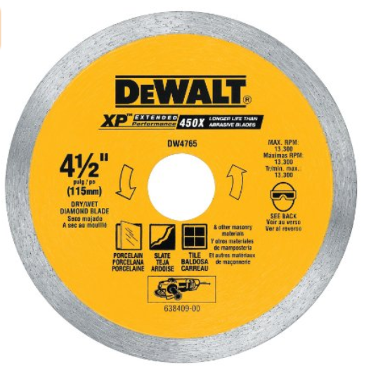 dewalt cutting wheel