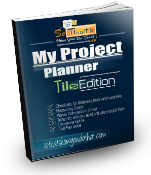 My Project Planner- Tile edition