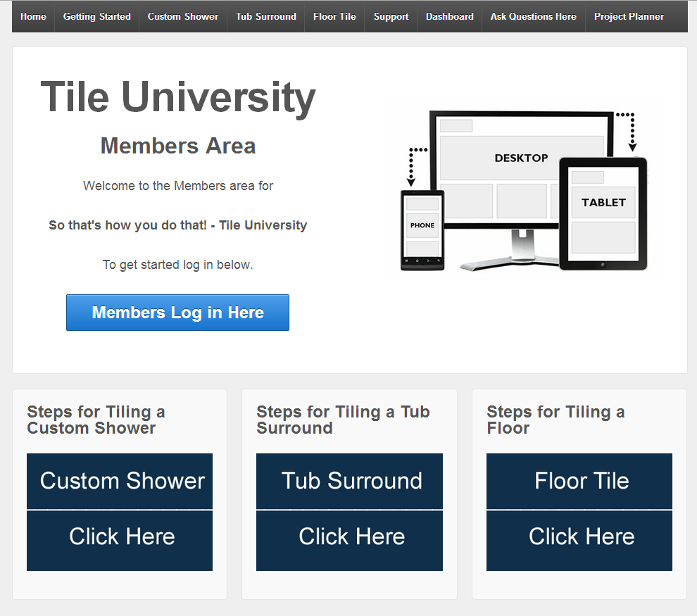 Tile university screenshot 1