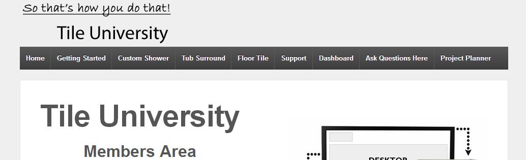 Tile university screenshot3